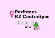 Chanel 5 Feminino 55 ml Perfume Contratipo